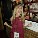 Randi Sloane having fun at The Grove Film Festival!