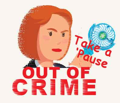 Take a 'Pause Out of Crime logo
